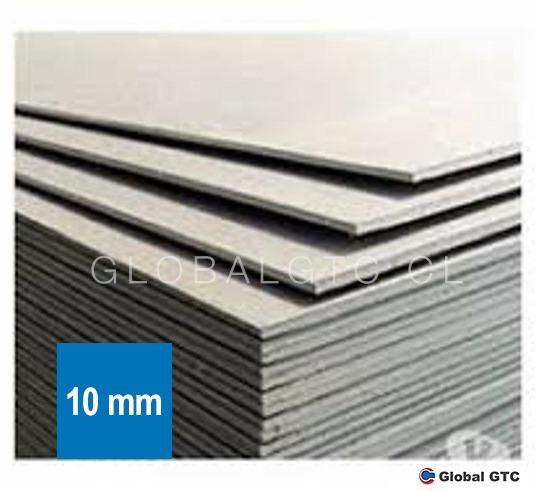 Plancha Lisa Fibrocemento 10 mm